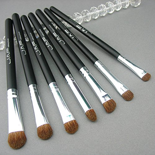 Benefit Hard Angle Brush - 7pcs Brushes for Makeup 100% Natural Animal Horse Pony Hair Eye Makeup Brush Set