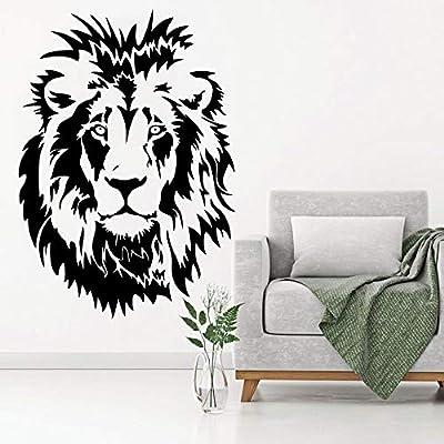 Ajcwhml Lion Head Kids Tatuajes de Pared de Vinilo Etiqueta de La ...