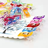 Multipurpose Sewing Clips With Tin Box, Pack of 100