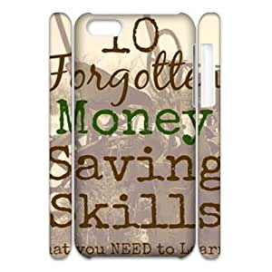 Money CUSTOM 3D Cell Phone Case for iPhone 5C LMc-91773 at LaiMc