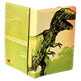 T-Rex Dinosaur Green Travel Passport Holder
