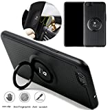 iphone 8 plus case,iPhone 7 plus Case non-slip,Anti-Fingerprint and Anti-Scratch with Magnetic Metal Finger Ring Stand Magnet Holder for iphone 8 plus,iphone 7 plus