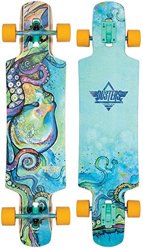 0d491e921a Image Unavailable. Image not available for. Color: Dusters 105311 Kraken V2  Multi Longboard Skateboard, 38