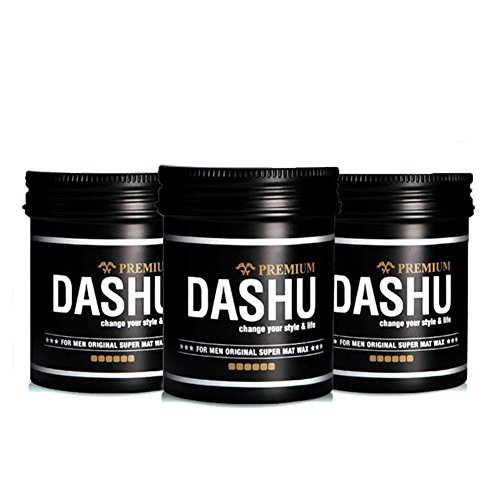 [Dashu] ( 3 pieces) for Men Original Premium Super Mat Hair Wax 100ml x 3ea. Special Price. Made in - Price Gatsby