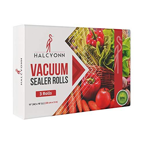 (Halcyonn Vacuum Sealer Rolls Three Pack - 11