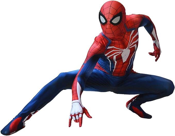 Amazon.com: Insomniac PS4 Spiderman Disfraz PS4 Spider-Man ...