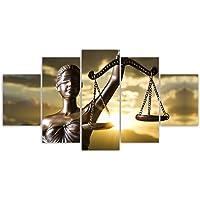 Quadros Decorativos Sala Quarto Deusa Justiça Direito Advocacia Hall Sala