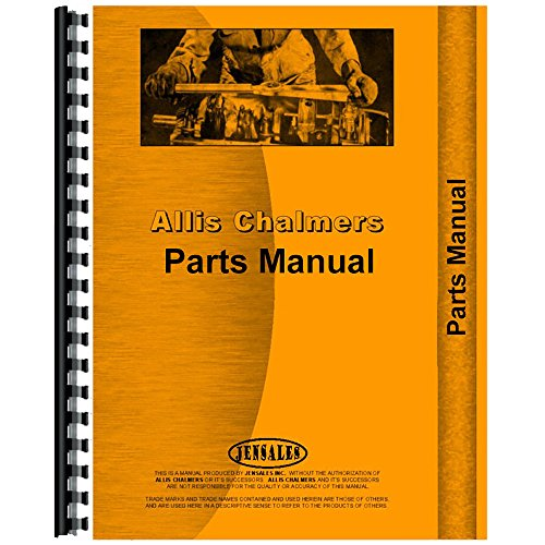 New Parts Manual Made for Allis Chalmers AC Tractor Model 66