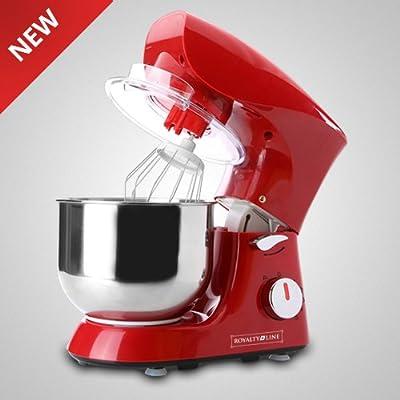 Black white-Robot de cocina amasador Mezclador para repostería Royalty Line rojo: Amazon.es: Hogar