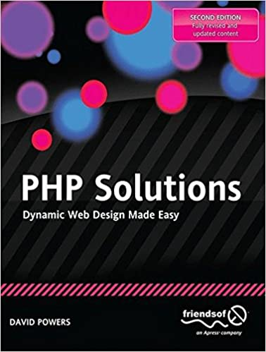 Ilmaisia ​​online-kirjoja PHP Solutions: Dynamic Web Design Made Easy PDF CHM