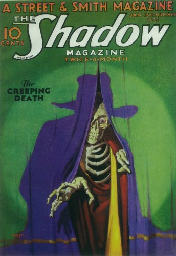 - Pop Culture Graphics The Shadow Magazine 410277 11 by 17 Pulp Magazine Poster Style B