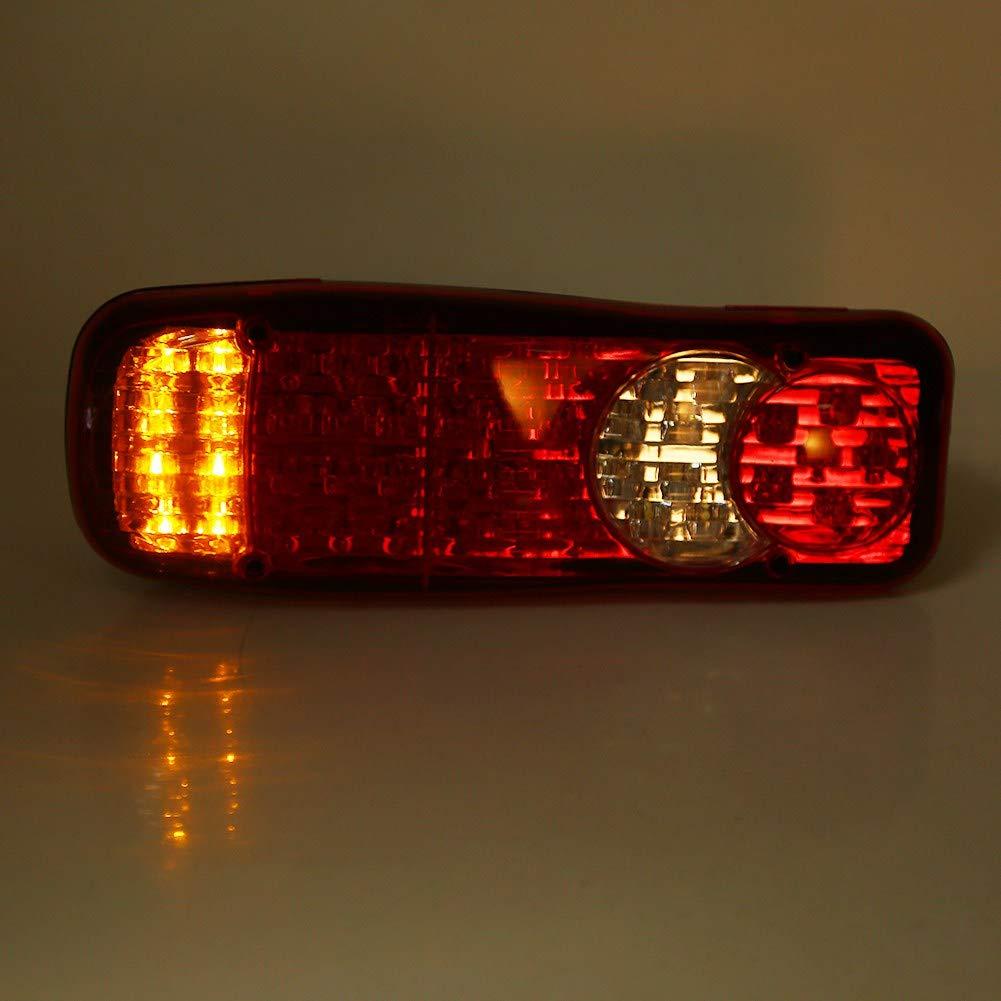 las dos partes del LED 12 V 46 multifuncional freno trasero luz de interruptor de parada van winker Merci l/ámpara de cola