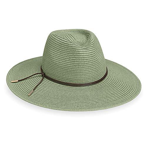ba08b2a7 Wallaroo Hat Company Women's Montecito Sun Hat – UPF 50+, Broad Brim,  Elegant