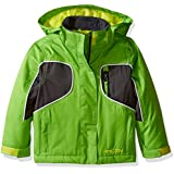 Arctix Boys Storm Insulated Jacket, 4T, Lime Green