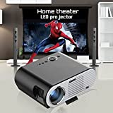 Home Theater LCD Digital Movie 2017 New 3200lumens projection 200inch big screen 10000:1 HDMI USB fuLl HD Home Theater video LED Projector WXGA1080P proyector beam