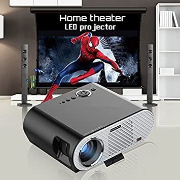 Proyector Portable de Las multimedias LED LCD 1080P 1280 * 800 ...