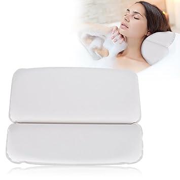 Bath Pillow Soft PU Non Slip Spa Bath Pillow