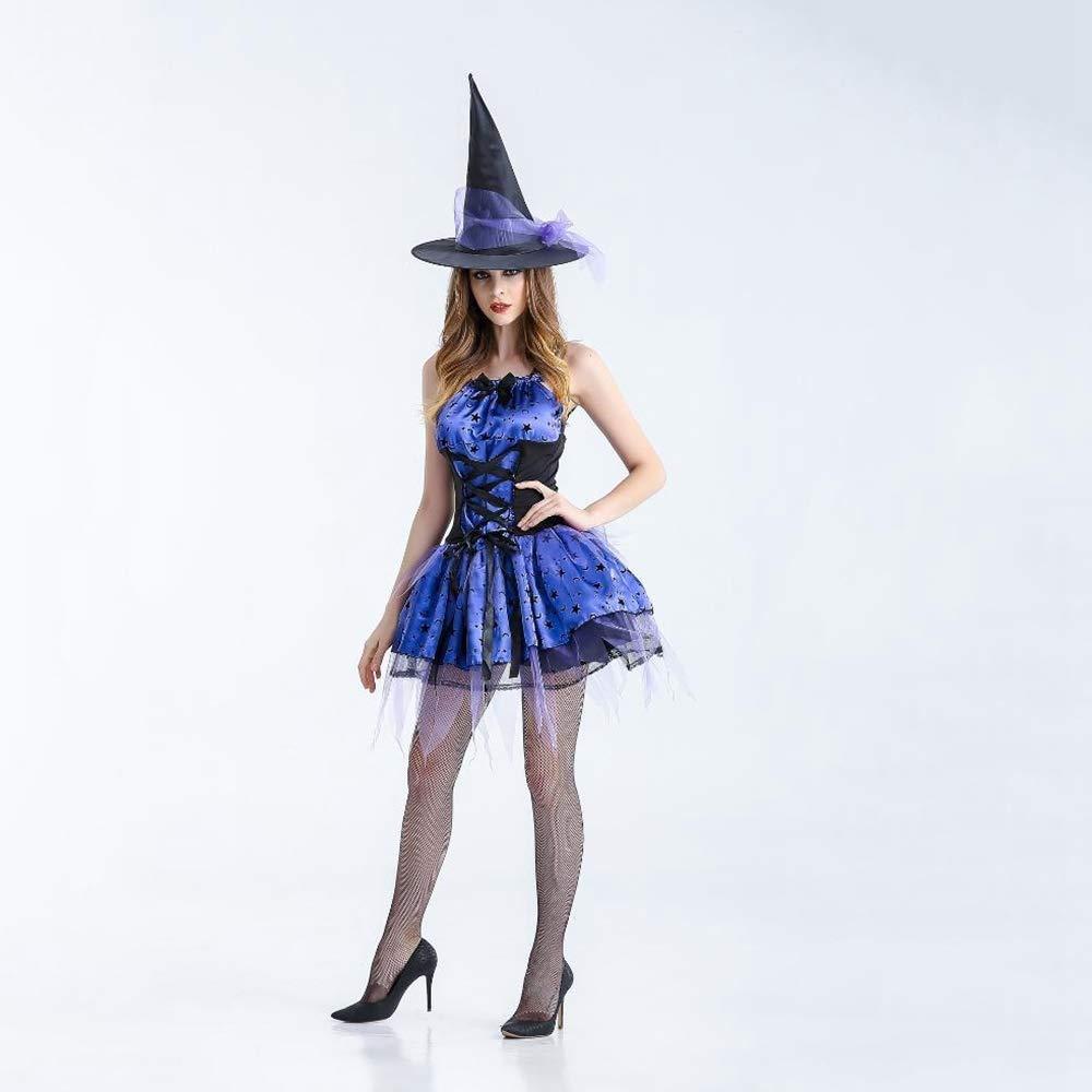 Shisky Cosplay kostüm Damen, Halloween Kostüm Hexenkostüm Rolle Spielen Hexe Kostüm B07JCRY4HS Kostüme für Erwachsene Einfach zu spielen, freies Leben    | Abgabepreis