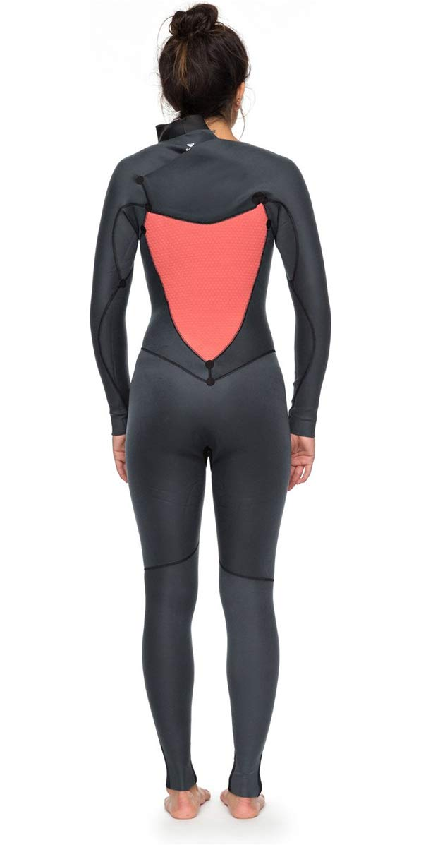 Roxy 2018 Womens Syncro+ 4/3mm Chest Zip Wetsuit Black ...