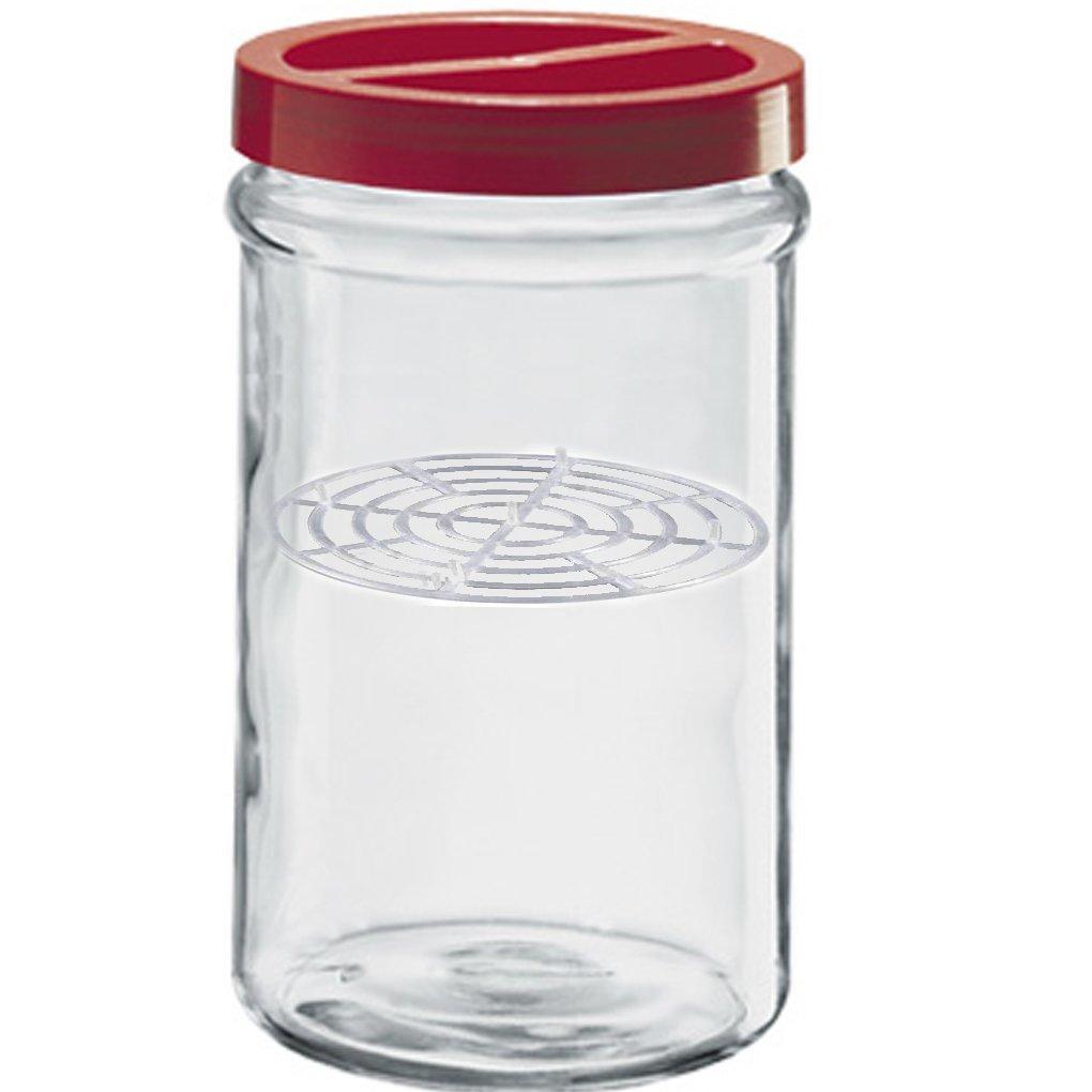 Vaso Contenitore Barattolo in vetro per conserve 5 Lt Borgonovo Ortes con pressello sott'olio sottaceto