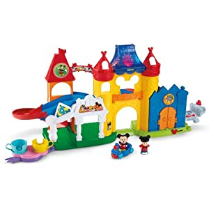 Fisher-Price Little People Discover Disney - 51SeGMwL3GL - Fisher-Price Little People Magic of Disney Day at Disney Playset