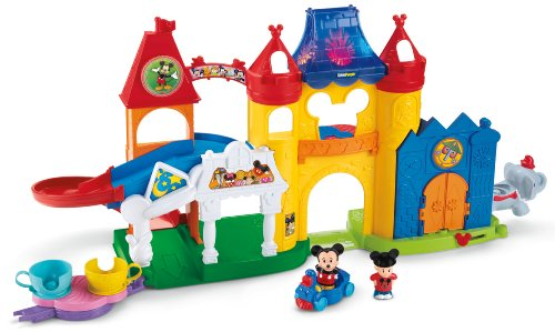 Fisher-Price Little People Magic of Disney Day at Disney Playset ()