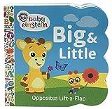 little einstein board books - Baby Einstein: Big and Little (Sturdy Lift a Flap Board Book)