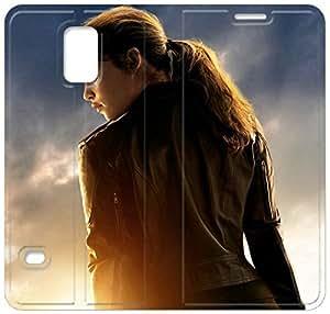 Terminator Genisys R2K74K7 Samsung Galaxy S5 caso del tirón del cuero caso funda T5Q30B0 teléfono funda de plástico bricolaje