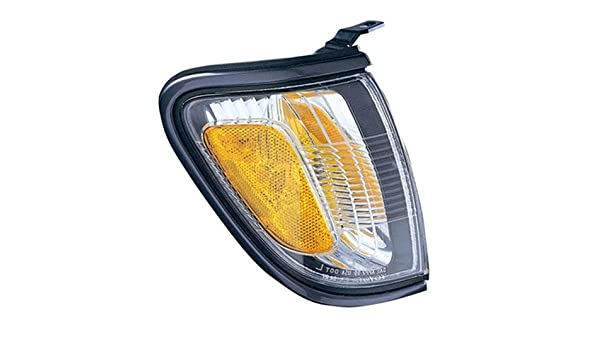 CPP Passenger Side DOT//SAE Compliant Corner Light for 01-04 Toyota Tacoma TO2521161