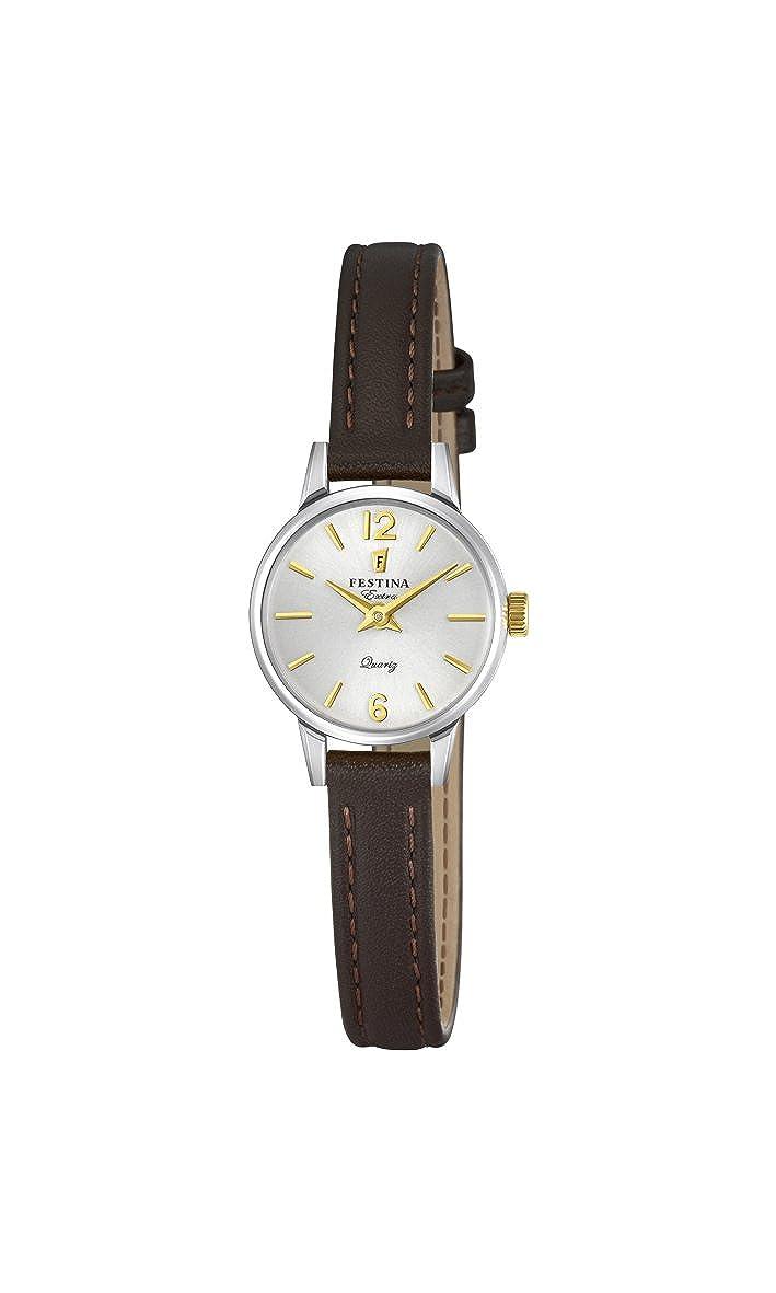 Amazon.com: Festina F20260/2 F20260/2 Wristwatch for women Classic & Simple: Watches