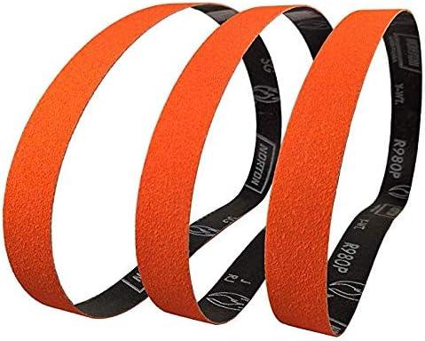 "1X30 EZ Zirconia Sanding Sharpening Belts for 1/""X30/"" Belt Sanders 6 Packs"