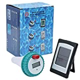 Professional Wireless Digital Swimming Pool SPA Floating Thermometer Wireless Indoor and Outdoor Pool Spa Hot Tub Thermometer