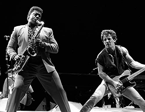 photo Bruce Springsteen and Clarence Clemons 8 x 10 Glossy Picture Image #2