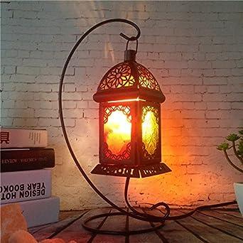 Retro Lampen Schlafzimmer Bett lampen salzkristall Lampe kreative ...