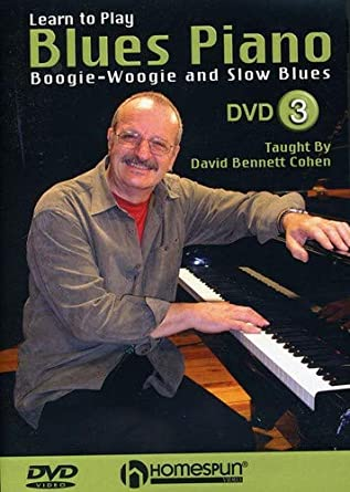 Amazon com: Learn to Play Blues Piano #3-Boogie-Woogie and