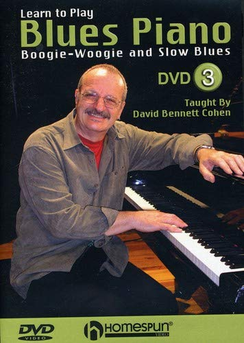 - Learn to Play Blues Piano #3-Boogie-Woogie and Slow Blues