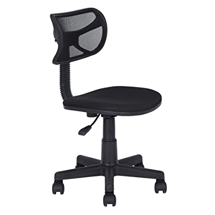 Ordinaire Teekland Office Chair, Adjustable Small Size Mesh Cloth Office Home Computer  Chair Without Armrest (