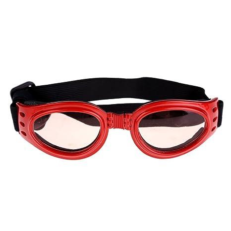macrorun Gafas para Mascotas, Gafas para Gatos y Perros, Gafas de Sol para Perros