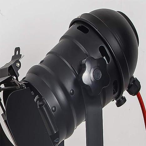 Amazon.com: Lámpara de mesa de cine ajustable vintage ...