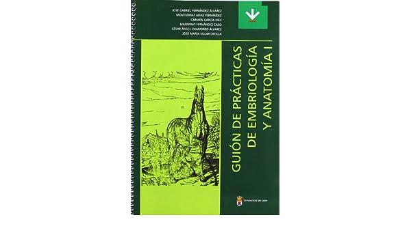 Guión de prácticas de embriología y anatomía I Libros de Texto ...