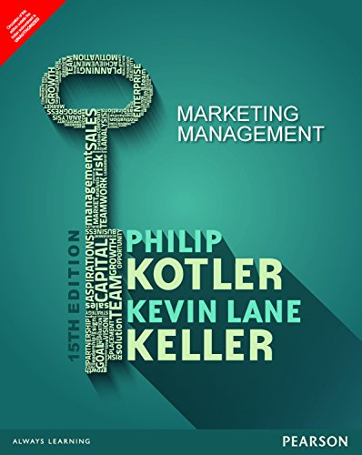 Marketing Management , 15 Ed