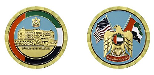 UNITED ARAB EMIRATES CHALLENGE COIN for sale  Delivered anywhere in USA