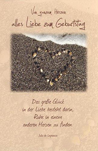 Geburtstagskarte Liebe Mit Briefumschlag Foto Motiv Von Ganzen