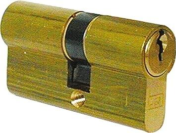 AGB Cilindro cerradura puerta excéntrico 60 mm (22 - 10 - 28) c60301.22.28: Amazon.es: Bricolaje y herramientas