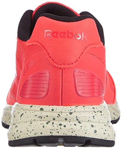 Silvery Black Paperwhite Green UL Chaussures Neon de Femmes Reebok Course Cherry Rouge 6000 UxPqPwpA