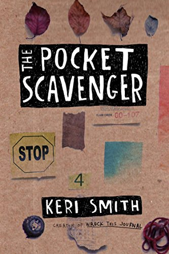 Prima Petites Scrapbook - The Pocket Scavenger