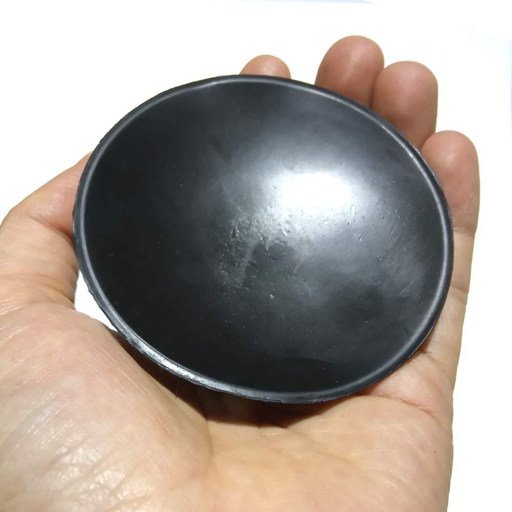 M6 D 8 cm Potente fuerte extensi/ón de goma negra Tornillo Ventosa Gancho con tuerca de seguridad recomendar 5 piezas multiuso,M/ás succi/ón