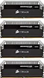Corsair Dominator Platinum 16GB (4x4GB) DDR4 DRAM 3200MHz (PC4 25600) C15 Memory Kit