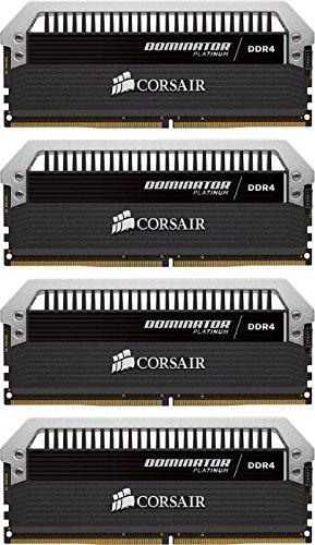 (Corsair Dominator Platinum 16GB (4x4GB) DDR4 DRAM 3200MHz (PC4 25600) C16 Memory Kit)