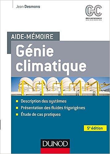 GENIE TÉLÉCHARGER PDF GRATUITEMENT CLIMATIQUE MEMOTECH